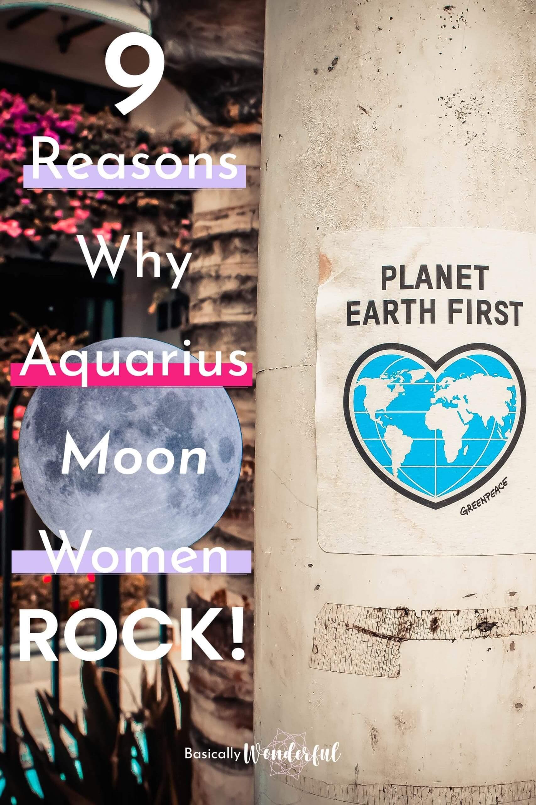 9 Reasons Why Aquarius Moon Women Rock
