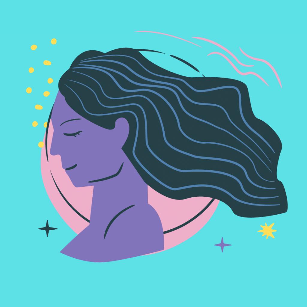 aquarius moon woman