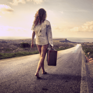 walking away from bad relationship