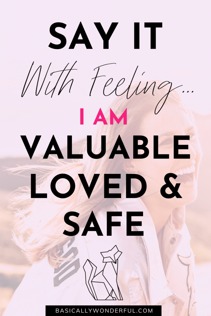 Affirmations for Feeling Safe & Confident