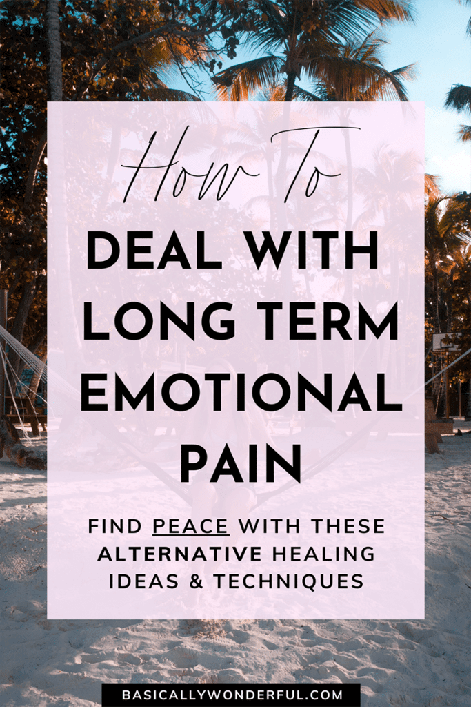 Alternative Healing Ideas & Techniques for Emotional Pain