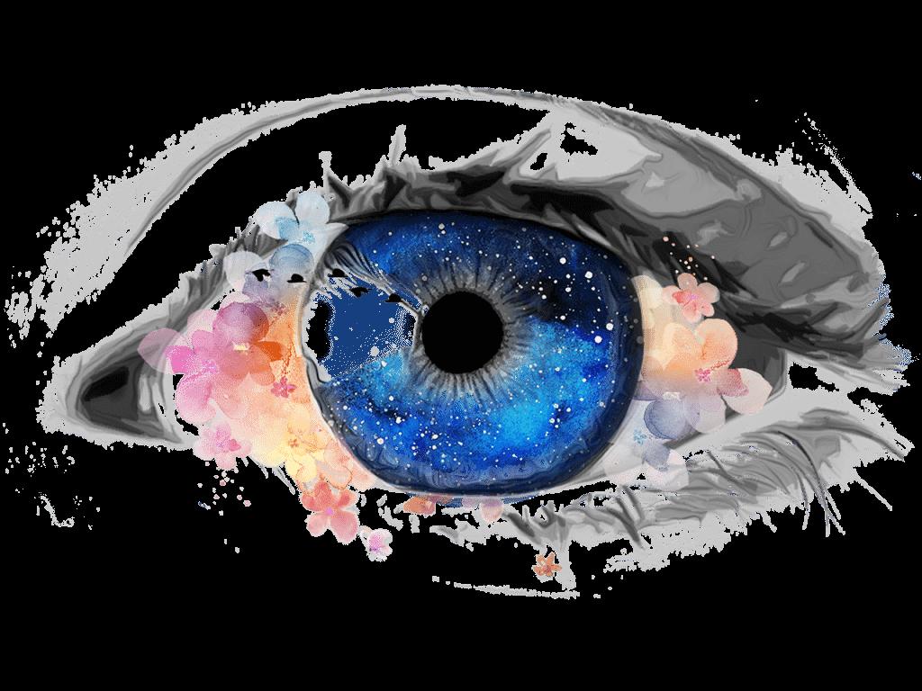 spiritual eyes of the universe