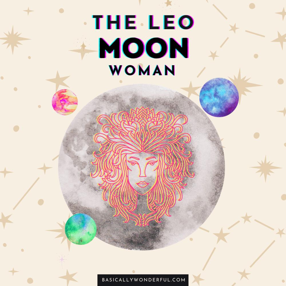 leo moon woman