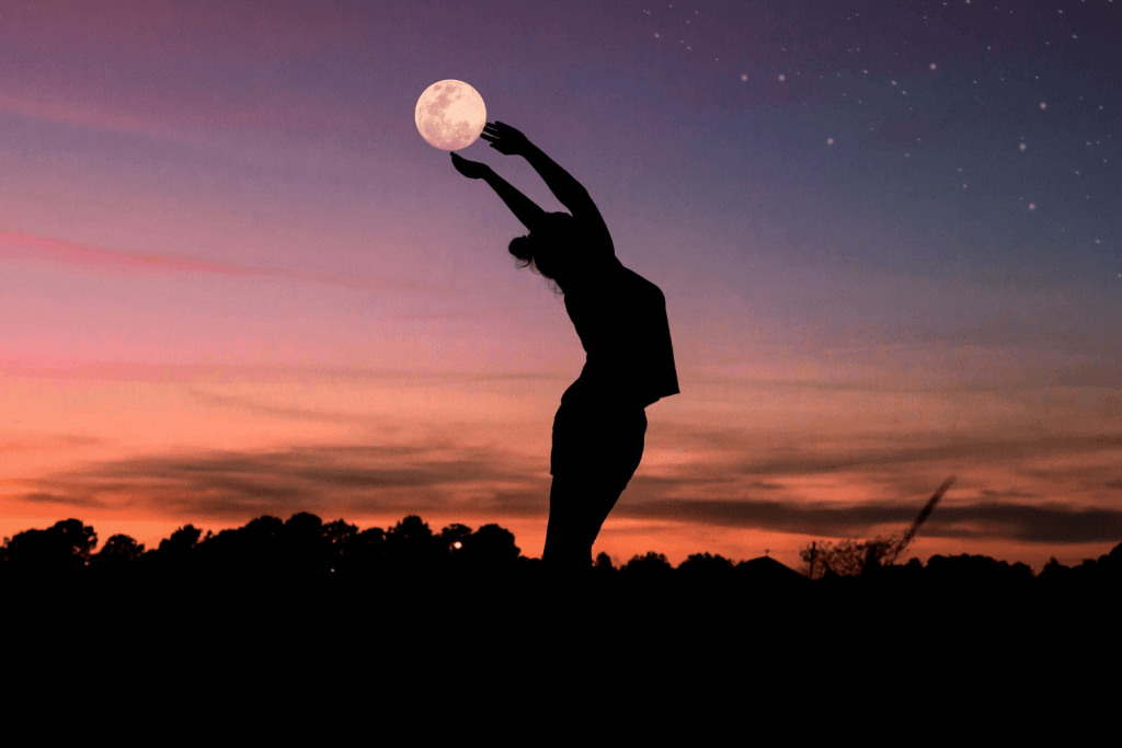 constellation and night sky