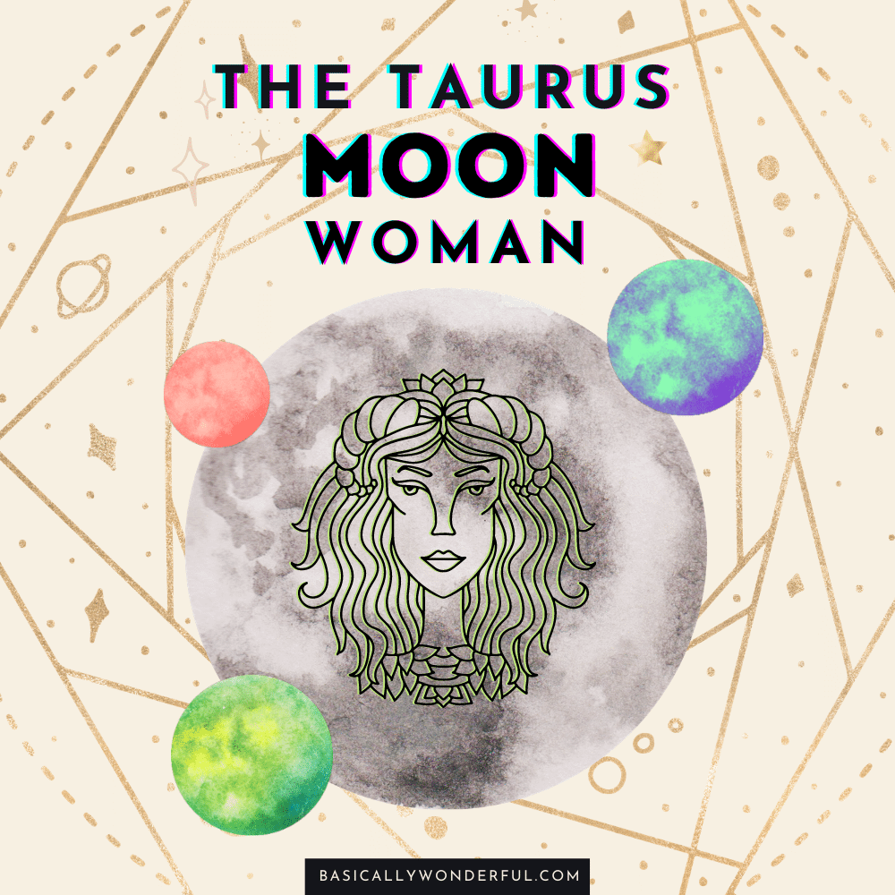 taurus moon woman