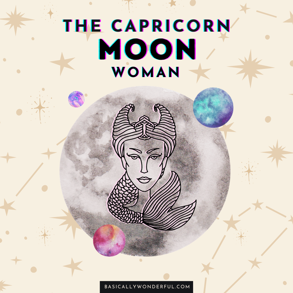 capricorn moon woman