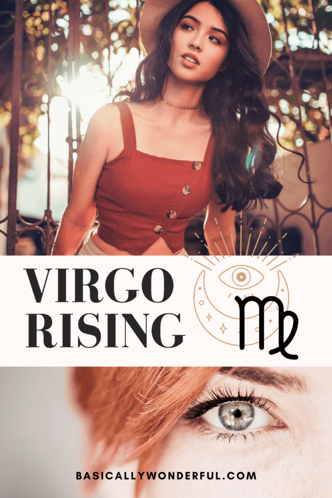 virgo rising physical appearance and style